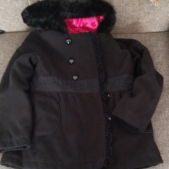 KC Collections Other - KC Collections Hooded Little Girls Coat